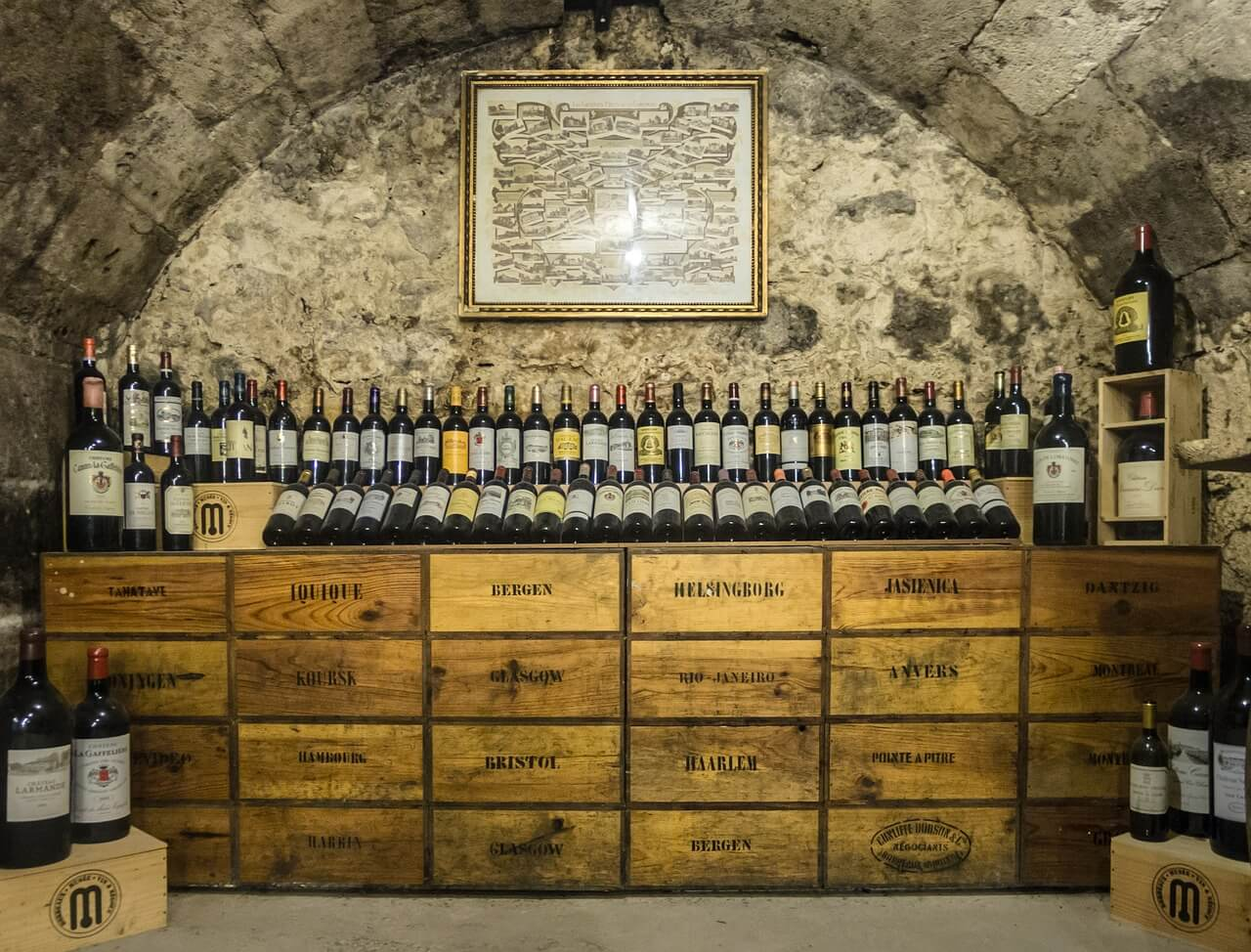 how to move a vintage wine collection