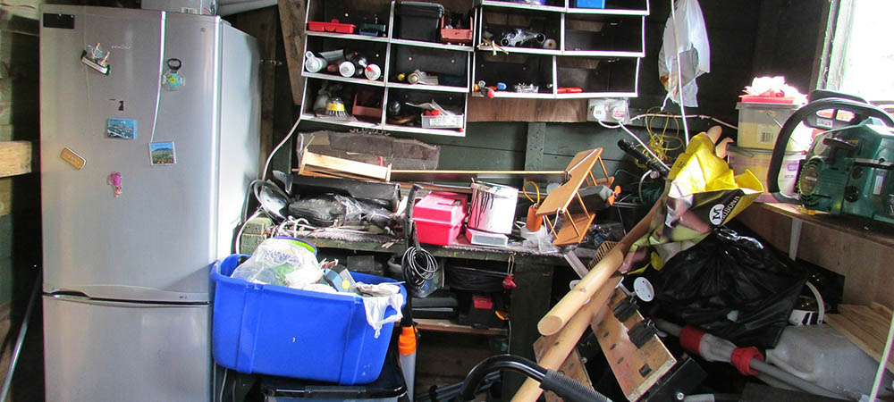 Organise the garden shed during your house move