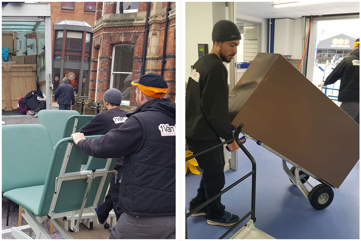 commercial removals in York