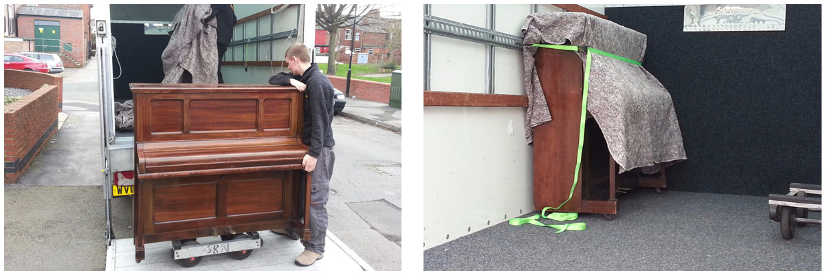 upright piano removals